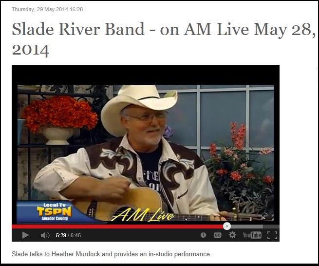 Slade Rivers  on TSPN